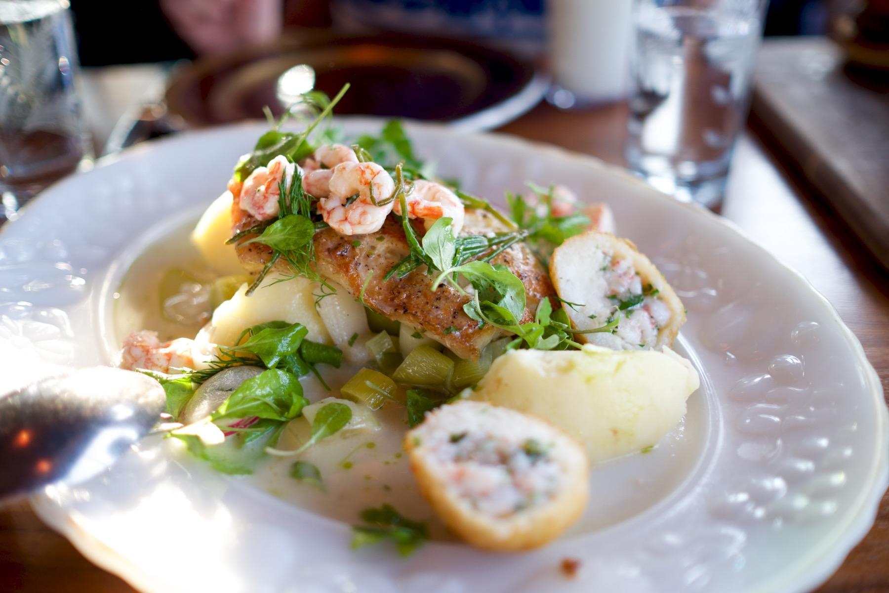 Cod & Shrimp